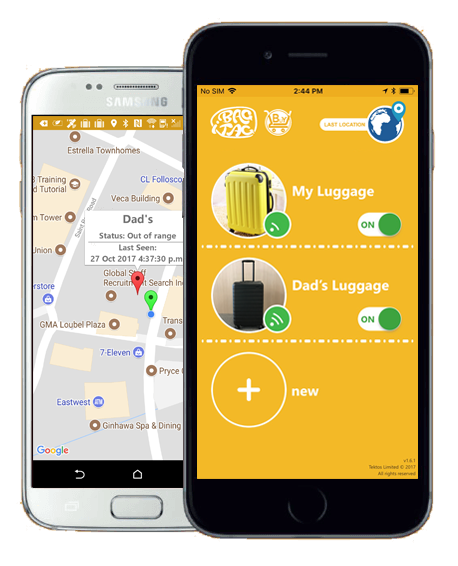 bagitag mobile app